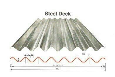 Decking Sheet  - by Gupta Iron & Steel Co, Delhi