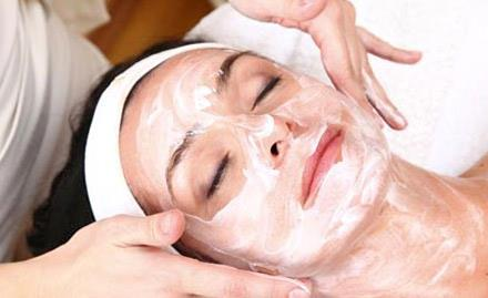 A facial is a procedure involving a variety of skin treatments, including: steam, exfoliation, extraction, creams, lotions, facial masks, peels, and massage.  different purposes: deep-cleansing, by penetrating the pores; healing acne scars  - by Lazarus Unisex Salon, Hyderabad