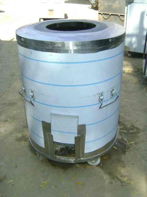ss round tandoor ss catering tandoor for caters used tandoor - by NAND LAL TANDOOR WALA, New Delhi
