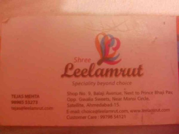 We have a wide range of all kinds snacks and namkeen. - by Shree Leela, Ahmedabad