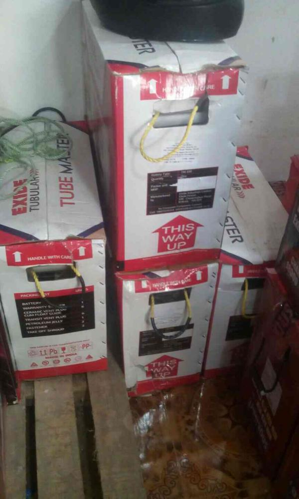 We are Supplier of All Branded Batteries in Chennai. - by Real Tech Power Control, Chennai