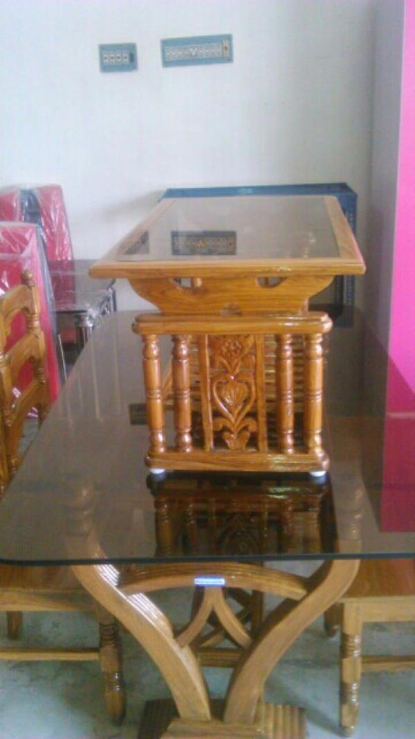 Wooden Center Table - by Aristo Steel Furniture Works, Kolkata