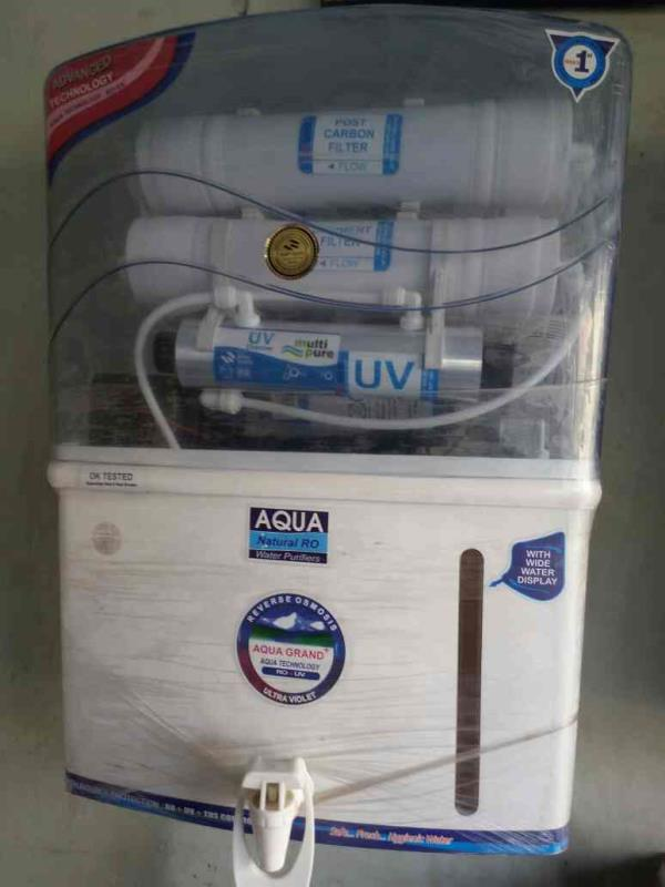 We Offer Aqua Natural Water Purifier Domestic and industrial with Good Quality Raw Material Low Maintainace in Rajkot in Varius Model and Design - by Giriraj Marketing, Rajkot