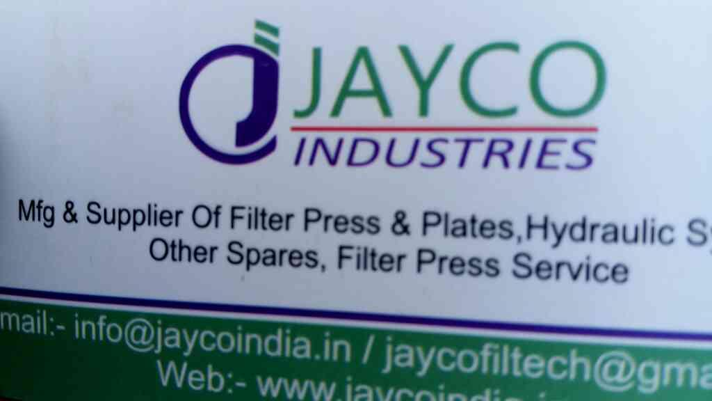 we are leading filter press manufacture in ahmedabad - by Jayco, Ahmedabad
