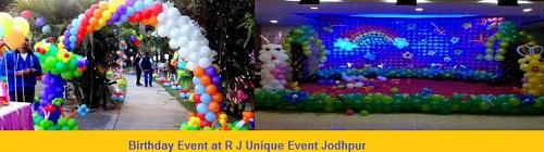 We Plan your Birthday by Unique way at R J Unique Event    Jodhpur - by Rj Unique Events, Jodhpur
