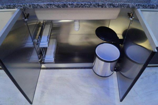 Hygnic Kitchen stainless Steel Modular Kitchen Waterproof Watherproof Termite Free Stainless Steel Sink Unit We Are Manufacturer Of Sink Unit And Modular Cabinates in Delhi Noida Faridabad  - by Mettas Lifestyle, New Delhi