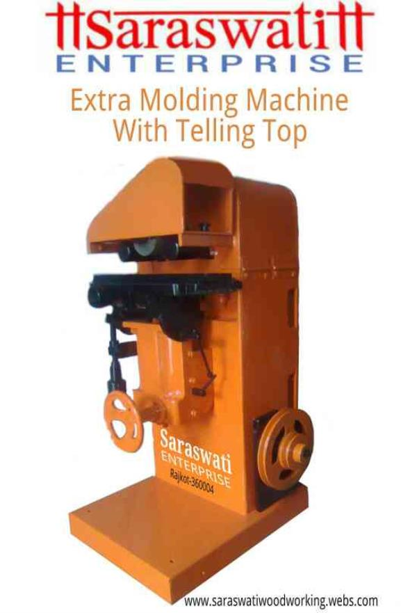 Extra Molding Machine (With Tilting Top) - by Saraswati Enterprise, Rajkot