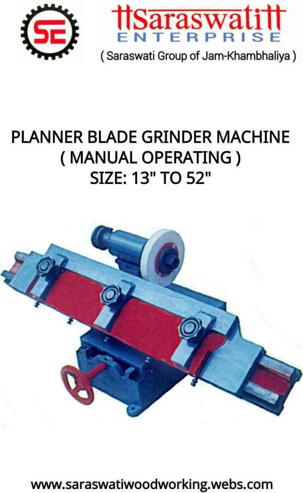 "24""- Blade Grinder Machine (Manual Operating) - by Saraswati Enterprise, Rajkot"