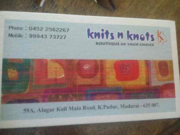 Professional Boutique Shop - by Knits n knots boutique 9994373727, madurai