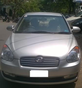 HYUNDAI VERNA CRDI VGT:MODEL 09/2006, KM 123400, COLOUR SILVER, FUEL DIESEL, PRICE 280000 NEG. - by Nani Used Cars, Hyderabad