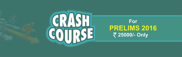 CRASH COURSE FOR CIVIL SERVICES EXAM - by Nalanda IAS Academy, Delhi