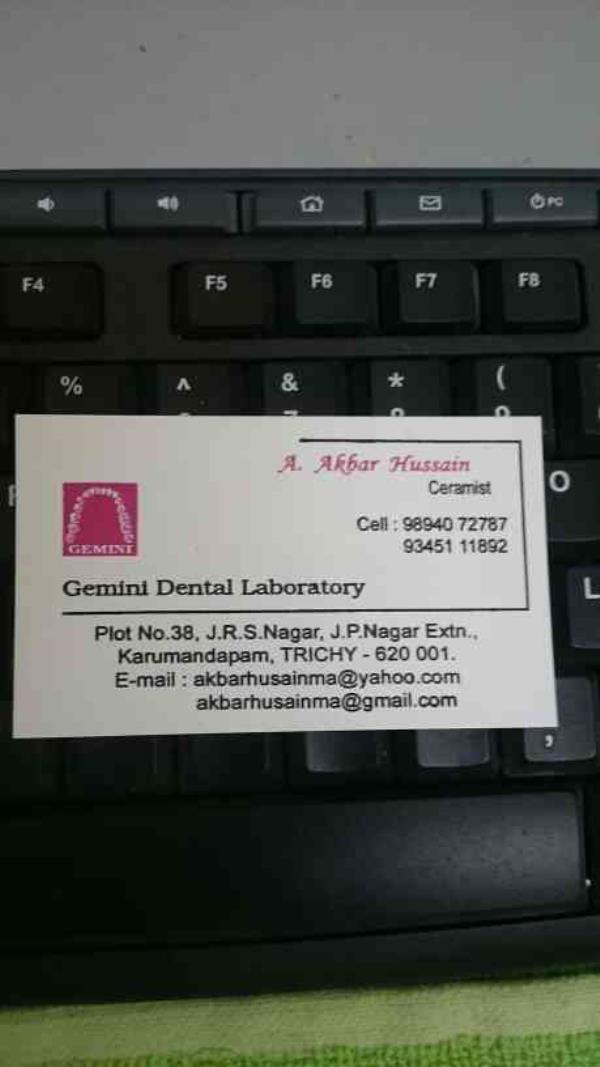 we are the most experienced dental laboratory in trichy  - by Gemini Dental Laboratory, Tiruchirappalli