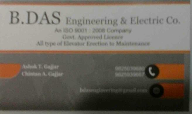 lift service  - by B.DAS Engineering, Ahmedabad