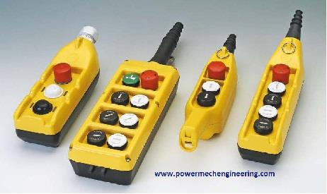 Push Button Pendant  - by SP Engineering Works 9999966195, Faridabad