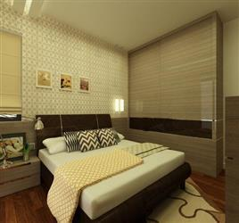These type of bedroom #interiors gives you cosy and real sound sleep... #interiordesign #bedroominteriors We are reachable at www.fourwallsinteriors.com - by Four Walls Interiors, Coimbatore