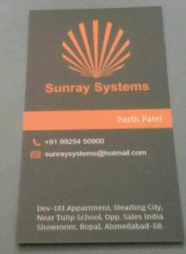 Refurbished laptop  - by Sunray Systems, Ahmedabad
