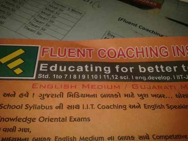 seevises provide in english spiking . - by Fluent Coaching Institute, Ahmedabad