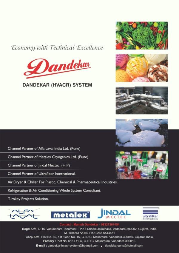 Best Industrial Solutions ,  Dandekar Hvacr System, G.I.D.C. Makarpura, Vadodara, Gujarat. - by Dandekar HVACR System, Vadodara