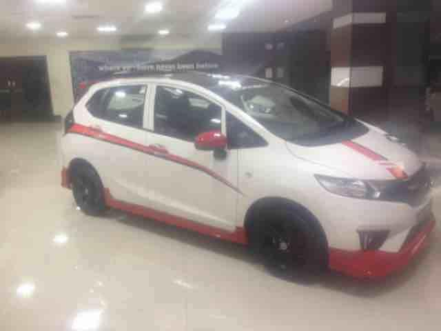Honda Jazz modified in pride Honda for details contact 9505504810 - by Pride Honda Call 04039594512, Hyderabad