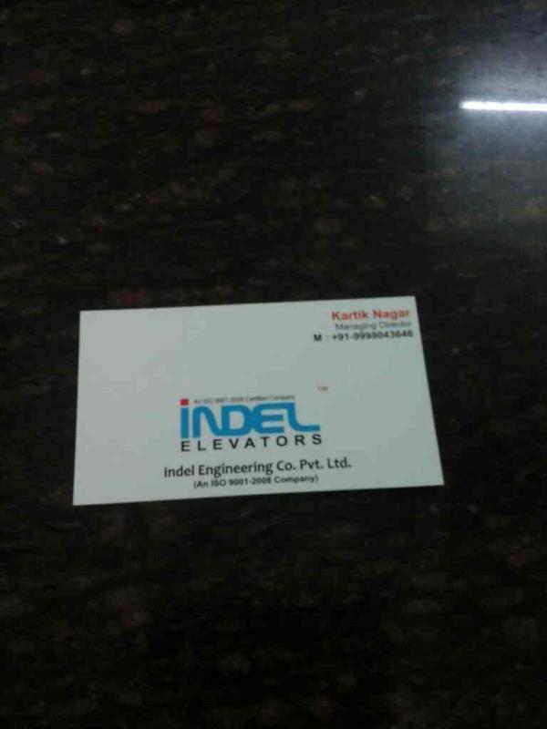 GOODS ELEVATOR  - by iPark A Venture Of  INDEL ENGINEERING LTD., Ahmedabad