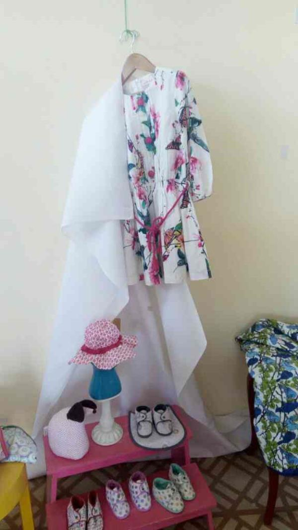 pretty printed dress for girls - by Mylittlelambs, Jaipur