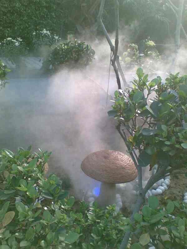 Mist Fog Effect System  it's awesome look & creative thought to Reduce outdoor temperature and effective for outdoor party's. Best for outdoor get together party in sunny day's. R.S ENTERPRISES 9990154546/9911303925 - by Vertical Garden Manufacturer, New Delhi