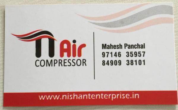 We Nishant enterprise deal with various kind of compressor  - by Nishant Enterprise, Ahmedabad