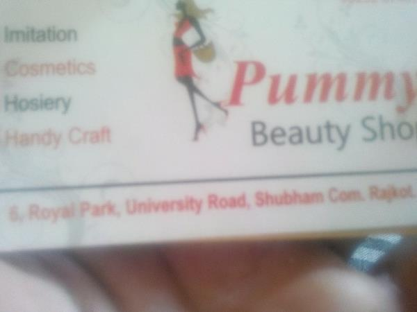 pummy beauty shop is located at university road  and we have all the products related ladies beauty related  small to big items in all range  available at our shop... for more details contact Mr. Mansukh  - by Pummybeautyship, University Road Rajkot