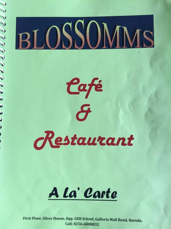 Visit new multicusin restaurant and cafe in Vadodara - by blossomms, Vadodara