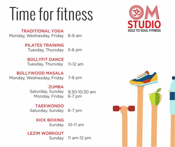 may schedule at Om Studio Pune Fitness lovers look no further. Om Studio has planned Fitness Regimes for girls, boys, the young and the young at heart with experienced and certified instructors. batches roll off for Yoga Classes, Pilates Cl - by OM STUDIO, Pune