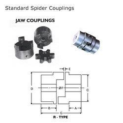 Jaw Coupling Distributors in Chennai  Our clients can avail from us optimum quality Jaw/ Spacers, which are available in different specifications to suit the demands of clients.  - by Dynamic Tradings, Chennai