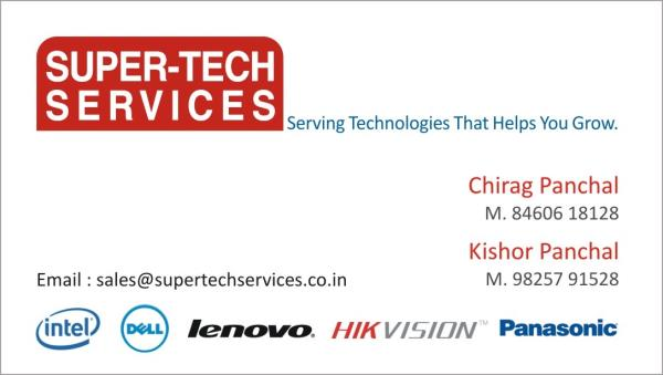 Serving Technologies that help you grow - by Super-Tech Services, Ahmedabad