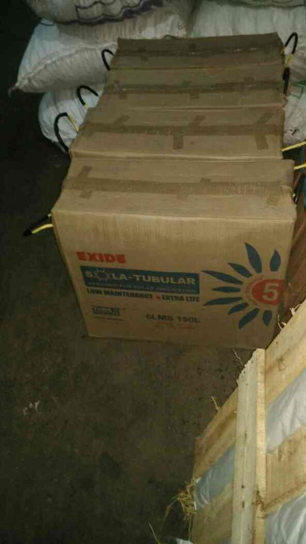 Exide solar battery at low price in chennai. SOLAR TALL TUBULAR BATTERY @ 9200/-  - by Golden Electric Power N Solar, Chennai