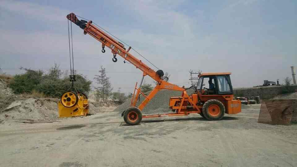 crusher Mechine shifted - by MSV Earthmovers And Crane Services, Tirupur