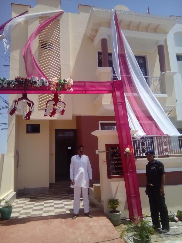 सौम्या विहार में प्रथम गृह प्रवेश  - by Soumya Vihar, Alwar