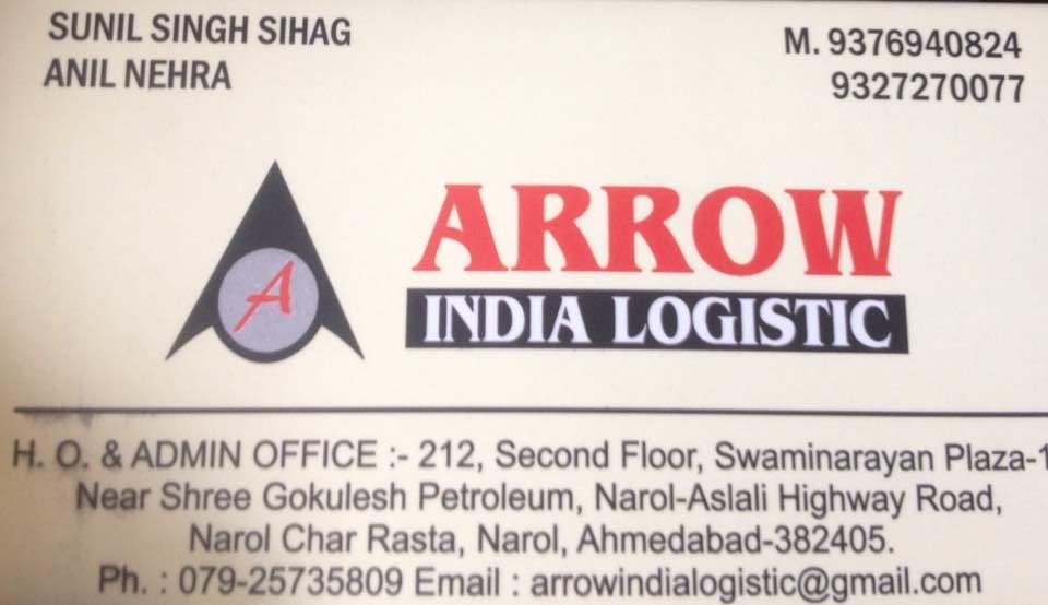 We are dealing in denim transportation only in all India  - by Arrow India Logistic, Ahmedabad