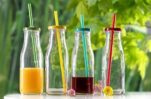 Glass Bottles for drinking, storage in many shapes . Available at PCN Household - wholesaler of glass bottles - by Welcome To PCN Household Products, Delhi