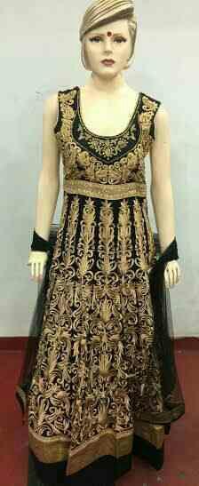 Weading Suit Designer in vadodara Dynamic Garment is a one stop shop for Indian Wedding Sarees, Bridal Wedding Lehengas, Designer Salwar Suits & Kameez for various occasions. - by Antra, Vadodara
