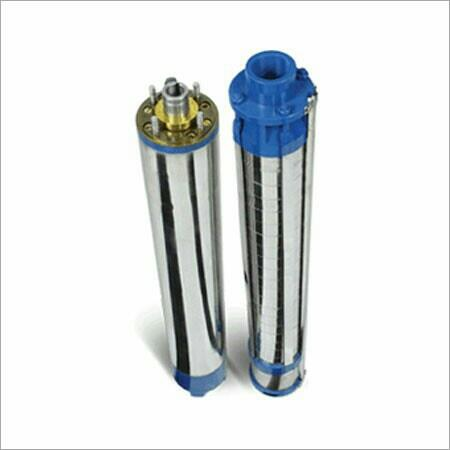 We Manufacturers of V4 Submersible pump in Rajkot with Good Quality of Raw Material - by Chandan Pump, Rajkot