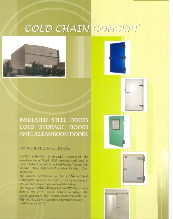 cold store door - by Cold Chain Concept, Kolkata