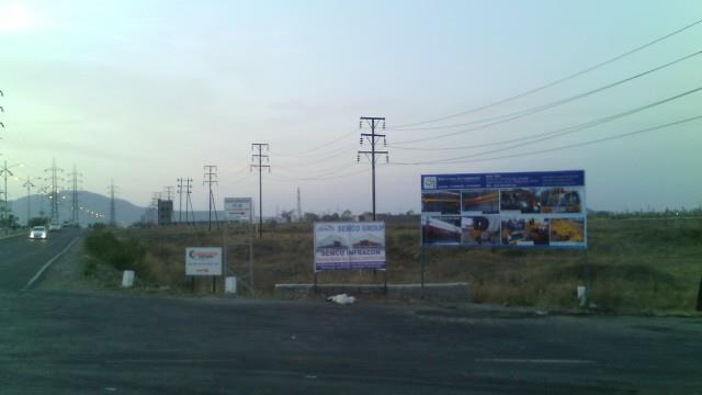 Our Hoarding at Hyundai Construction Equipment s. - by RSK Engineering Ind. Pvt. Ltd., Pune