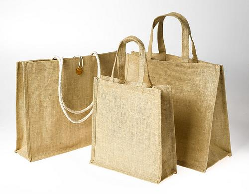 Also called BURLAP, has a silky luster along with low extensible and high tensile strength. Bearing the property of bio biodegradability and being renewable, it has a very essential role in the protection of the environment. Therefore, Eco  - by Blivus Bags, Ahmedabad