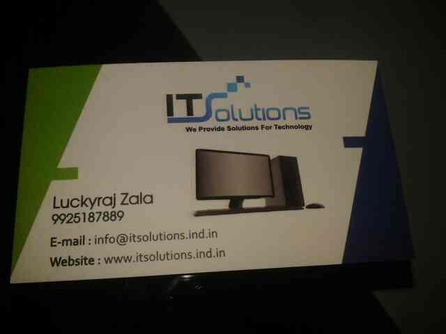 we are sales services  computer in ahmedabad. - by It Solution, Ahmedabad
