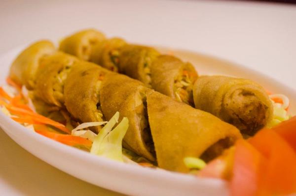 The must have Chinese starter, Spring Rolls to begin your dining experience at Krazy Kitchen. - by New Krazykitchen, Nainital