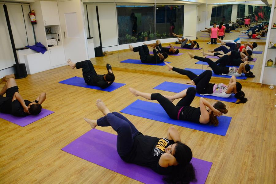 get started on your Fitness Regime, try something different like Pilates Classes. don't let that lazy side of you hold you back. we assure you sweet pain which will pay off, with Group Fitness Classes. sweat like a pig, Look like a Fox! tue - by OM STUDIO, Pune