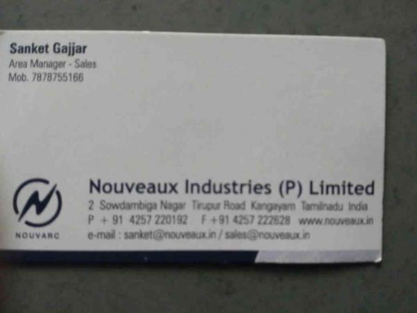 we provide quality products to our customers. - by Nouveaux Industries , Ahmedabad
