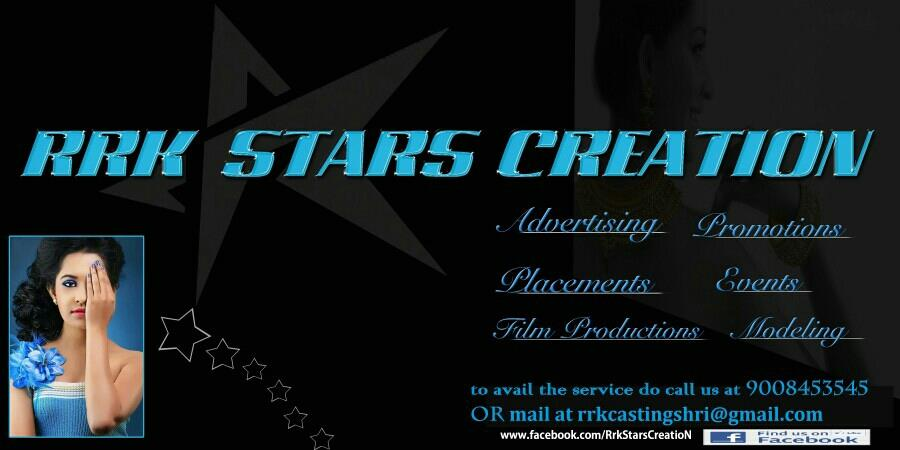 Get huge promotions and publicity  - by RRK STARS CREATIONS, Bangalore