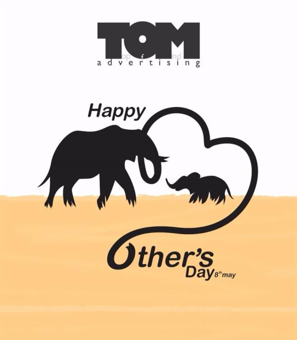 TOM Advertising wishing all a very happy Mother's Day.  - by TOM ADVERTISING PVT LTD, Ahmedabad