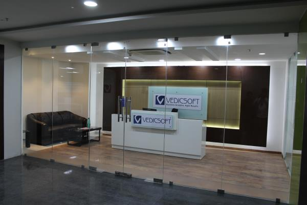 Recently done Commercial Interiors work !! - by GoGreen Project Solutions, Hyderabad