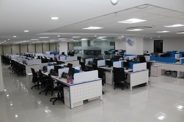 Work Stations !! 116 Seater - by GoGreen Project Solutions, Hyderabad
